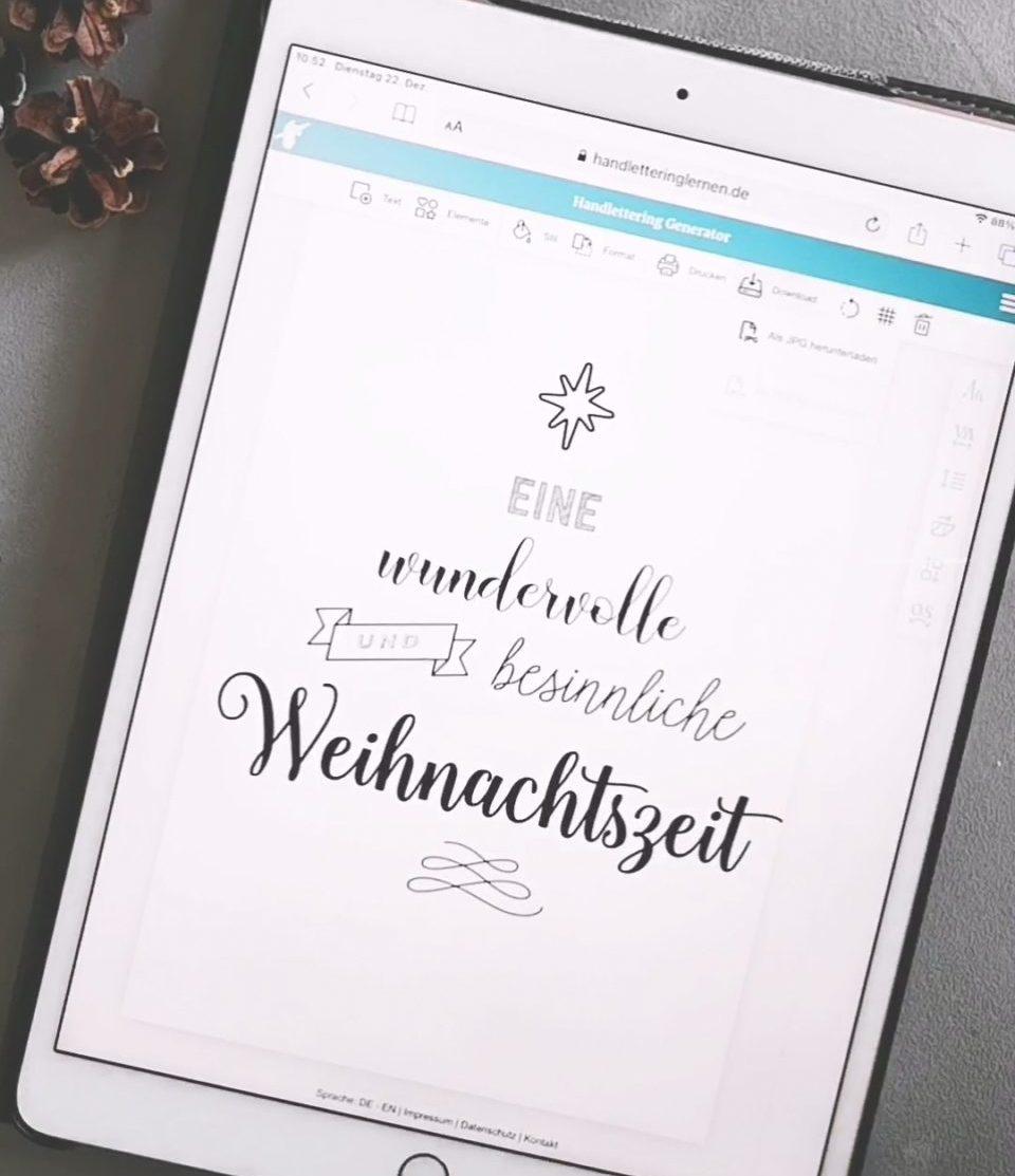 Your Handlettering Generator Designing Printing 1